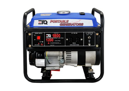 ETQ TG12L31 1800-Watt 2-1/2-HP 98cc 4-Cycle OHV Gas Powered Portable Generator