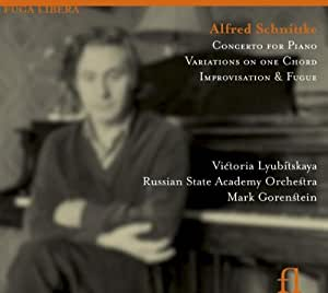 Schnittke: Concerto for Piano, Variations on One Chord, Improvisation & Fugue