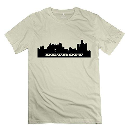 Detroit Great Mens T Shirt Size Xxl Color Natural
