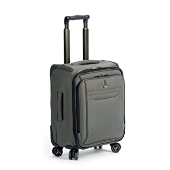 delsey luggage helium x 39 pert lite personal ultra light 4 wheel spinner tote gray. Black Bedroom Furniture Sets. Home Design Ideas