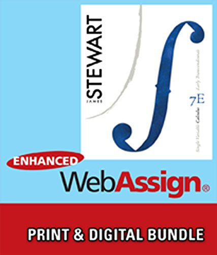 Bundle: Single Variable Calculus: Early Transcendentals, 7th + Enhanced WebAssign Printed Access Card for Calculus, Mult