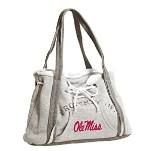 Buy NCAA Mississippi Rebels Hoodie Purse, Grey 1 by Littlearth
