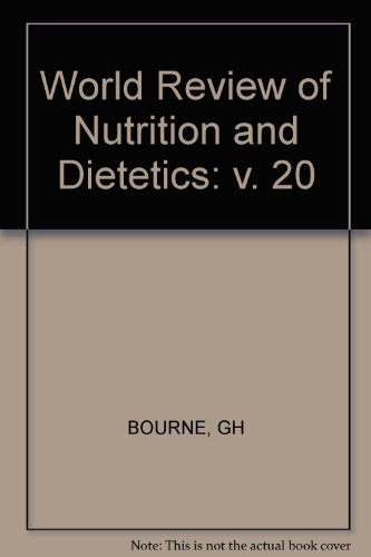 World Review Of Nutrition And Dietetics (V. 20)