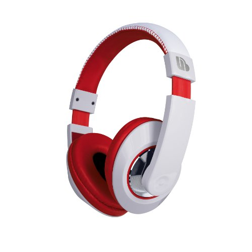 Urban Beatz Tempo Stereo Headphones - Red/White (M-Hl852)