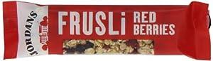 Jordans Frusli Bar Red Berries (Pack of 24)