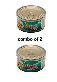 oceans secret tuna in vegetable oil combo of 2(180g each)