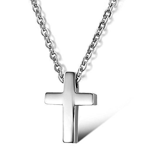 Cross Titanium Necklace by tingmeizier
