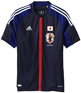 Japan Home Authentic Soccer Jersey by adidas