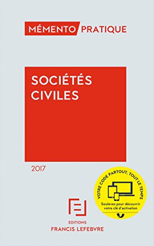 Mémento Sociétés civiles 2017