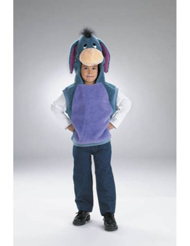 Baby-boys - Vest Eeyore Toddler Costume 1 To 2 Halloween Costume