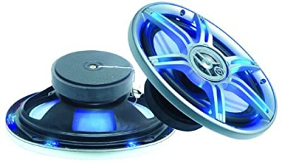 Auto Einbaulautsprecher Lautsprecher Boxen PAARPREIS LED 3-Wege Car Hifi LED-699 von ETT auf Reifen Onlineshop