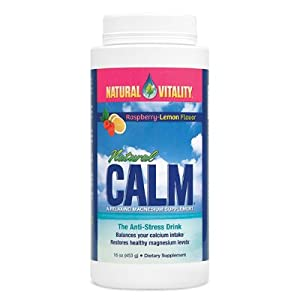 Natural Vitality Natural Calm Raspberry Lemon 16oz