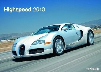 2010 High Speed A3 Calendar