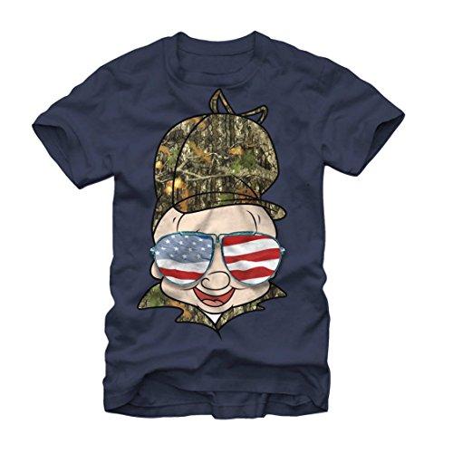 looney-tunes-american-elmer-fudd-mens-graphic-t-shirt