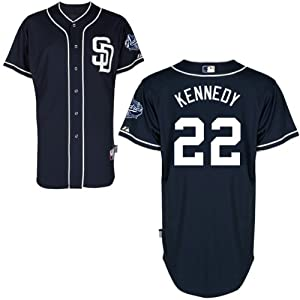 Ian Kennedy San Diego Padres Alternate Navy Authentic Cool Base Jersey by Majestic by Majestic
