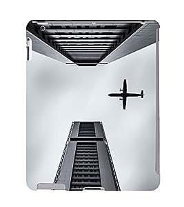 EPICCASE Flying between Scrapers Mobile Back Case Cover For Apple Ipad 2/3/4 (Designer Case)