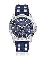 Guess Reloj de cuarzo Man W0366G2 Azul 43 mm