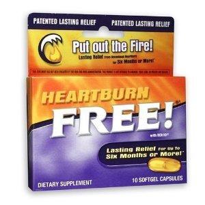 Enzymatic Therapy - Heartburn Free w/ ROH10 - 10 softgels