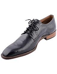 D.Desire Men's Leather Formals & Lace-Up Flats - B00Y1EI1MK