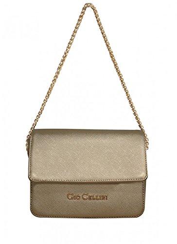 GIO CELLINI - Borsa donna tracolla mini bag c149 oro