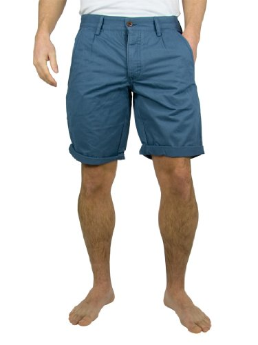 Farah Vintage - Grey Blue Albany Shorts - Mens
