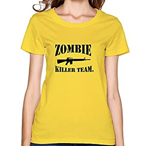 Printing Zombie Killer Team Evolution Ladies Tee Shirts