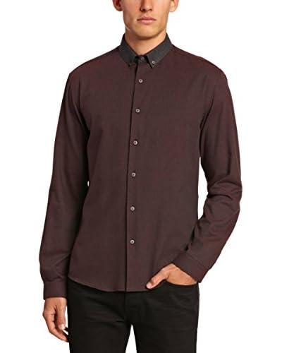 Selected Homme Camisa Hombre Calhoun Azul