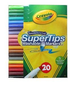 Crayola #58-8106 20CT Super Tips Marker
