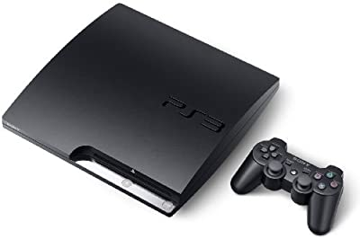 Sony PlayStation 3 Slim 120GB Gaming Console & Blu-ray Player w/DUALSHOCK 3 SIXAXIS Wireless Controller