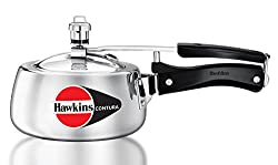 Hawkins Contura Aluminium Pressure Cooker, 1.5 Litres