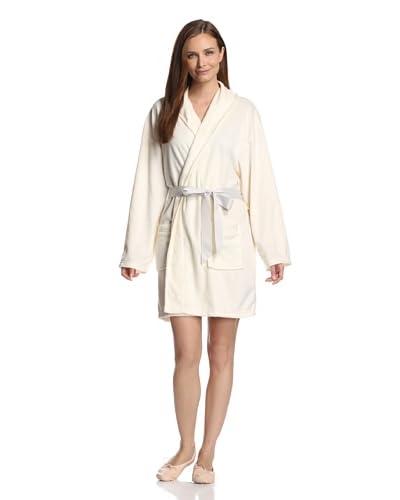 "Aegean Apparel Women's Minky Fleece 36"" Shawl Collar Robe"