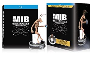 Men in Black Trilogy: Limited Edition Collector's Set + Figurine / Hommes En Noir 3: Edition Limitee Collector + Figurine (Bilingual) [Blu-ray]