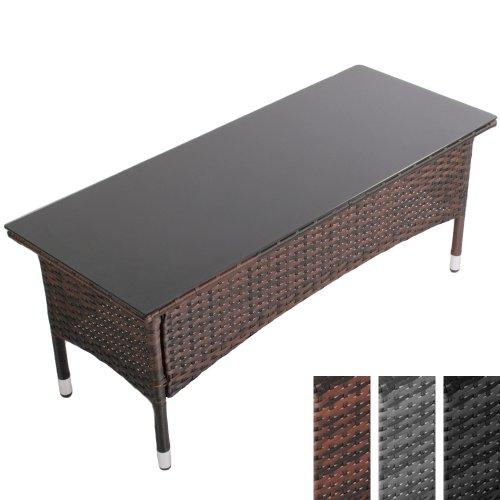 Table basse aluminium le guide jardingue - Table basse en resine ...
