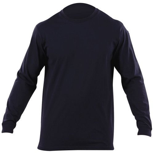 5.11 #72318 Professional Long Sleeve Tee (Fire Navy, Small)