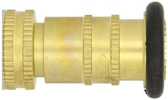 8 Pack Polycarbonate Fire Hose Nozzle Fog//Shut-Off 78 gpm 1 1//2 NPSH