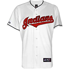 Majestic Athletic Cleveland Indians Michael Brantley Replica Home Jersey by Majestic Athletic