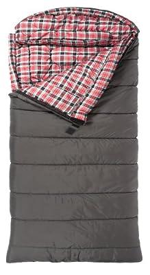 "TETON Sports Celsius XL -32 Degree C / -25 Degree F Flannel Lined Sleeping Bag (90""x 36"")"