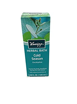 Kneipp Eucalyptus Sinus Relief Herbal Bath - 3.38 oz.