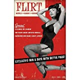 (12x18) Bettie Page Flirt Pin-Up by Retro-A-Go-Go Indoor/Outdoor Plastic Sign