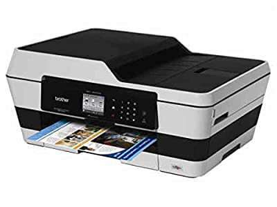 Brother Printer MFC-J6520DW Wireless Color Printer with Scanner, Copier and Fax