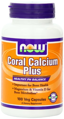 Now Foods Coral Calcium Plus Mag, 100 Vcaps,