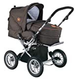 knorr-baby 706921 - Kinderwagen Nizza, chocolate-orange