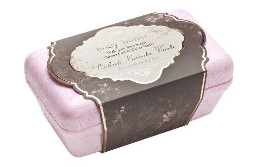 サボン 新ボディバター パチュリラベンダーバニラ Body Butter Patchouli Lavender Vanilla イスラエル発 並行輸入品 海外直送