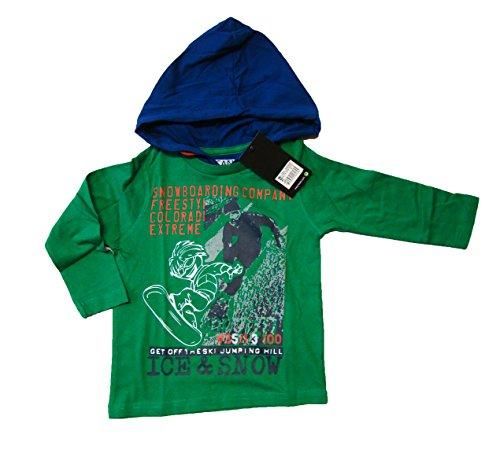 Losan -  Felpa con cappuccio  - ragazzo verde