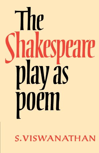 The Shakespeare Play as Poem Paperback