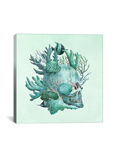 Terry Fan Full Fathom Five Gallery-Wrapped Canvas Print