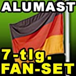 Aluminium Fahnenmast 6,60 Meter - Akt...