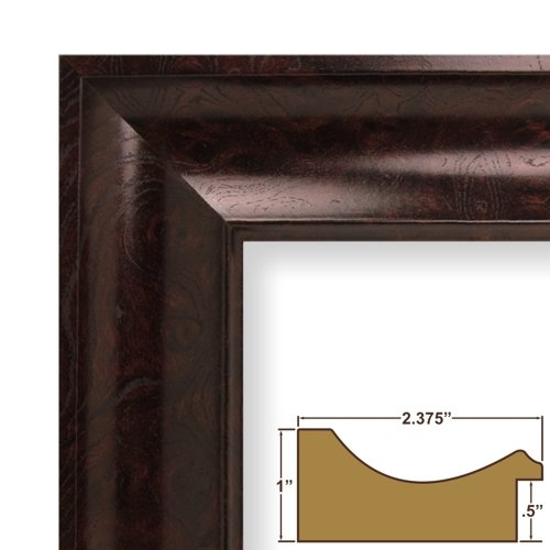 save 33 00 24x30 picture poster frame smooth wood