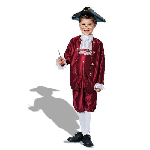 Ben Franklin Child Historical Costume