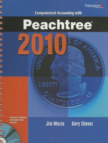 Computerized Accounting with Peachtree 2010 PDF